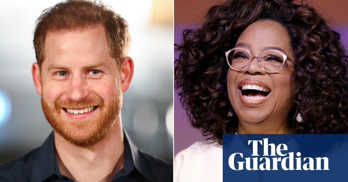 Trailer released for Prince Harry and Oprah Winfrey TV series