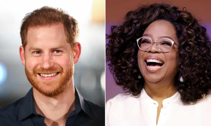 Pangeran Harry dan Oprah Winfrey