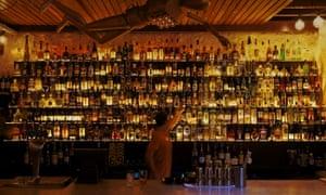 Bar area at the Odd Fellow venue in Fremantle, Western Australia.