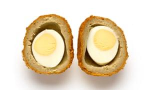 Scotch eggs.
