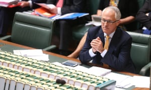 Prime Minister Malcolm Turnbull during question time this afternoon in the house of representatives, Canberra. Wednesday 21st October 2015