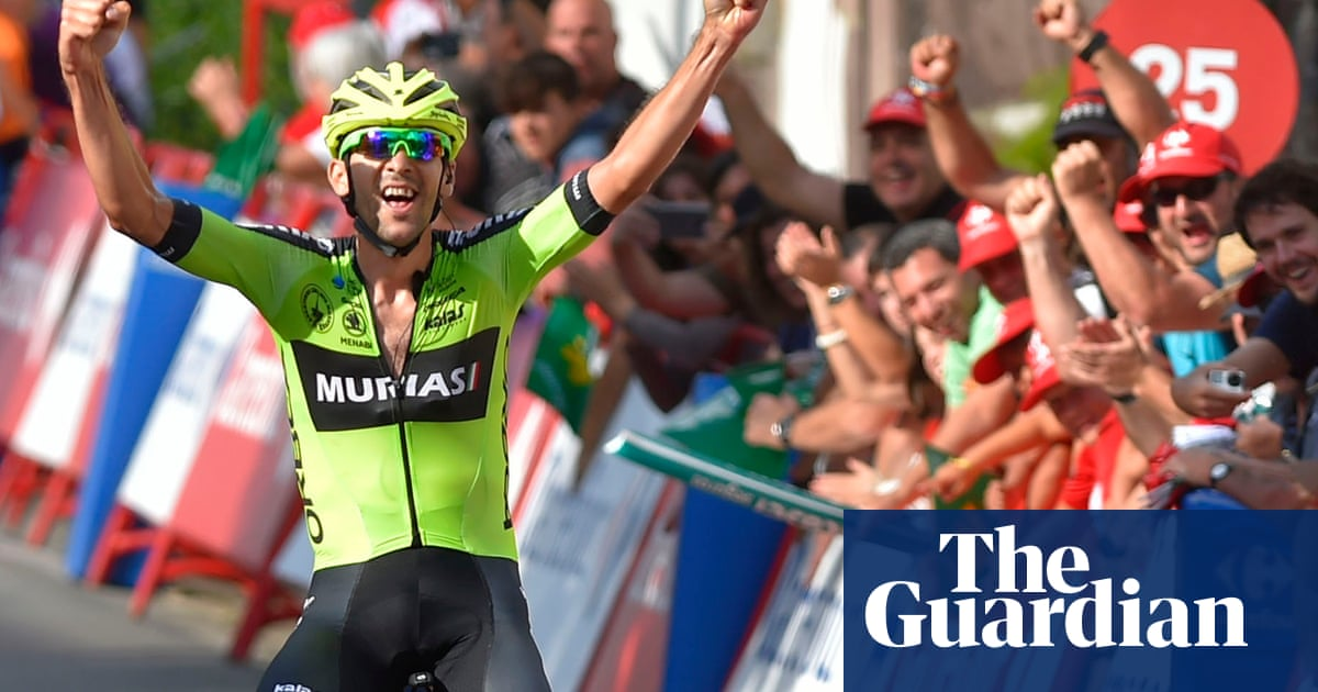 Vuelta a España: Mikel Iturria wins stage 11 with gutsy solo attack