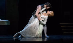 Ballet does aristocratic decadence so well … Alexander Idaszak as Valmont and Lucy Green as Madame de Tourvel.