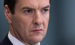 British Chancellor of the Exchequer George Osborne