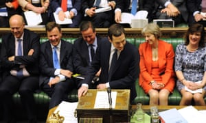 Despite rising global temperatures now shattering all records, the issue of climate change did not get a single mention in George Osborne's speech.