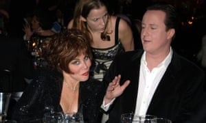 David Cameron with Ruby Wax at the Conservatives' Black and White Ball, 2006