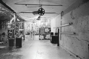 The Factory interior
