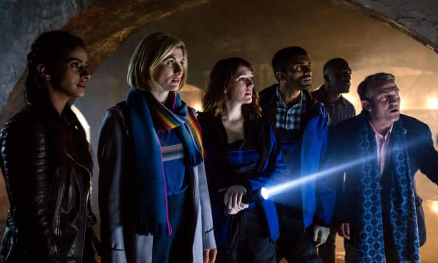 Is Yaz the most underused companion in Doctor Who history? … The Doctor with the Yaz, Mitch, Ryan and Graham.