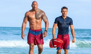 Come on, back in the water ... the Baywatch remake with Dwayne Johnson and Zac Efron as Mitch and Matt