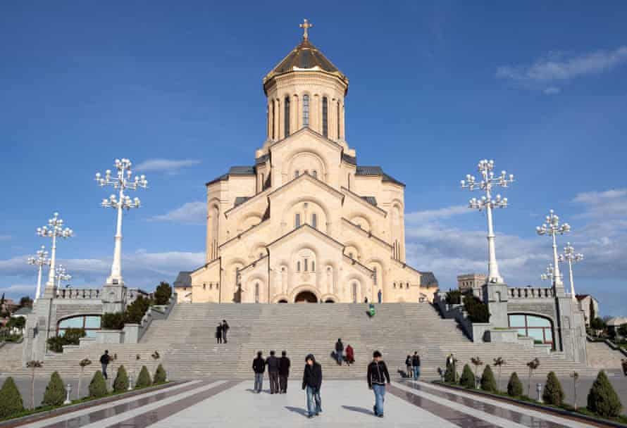 The Holy Trinity Sameba Cathedral of Tbilisi