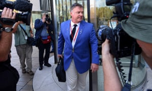 Rod Culleton at a directions hearing at the high court in November