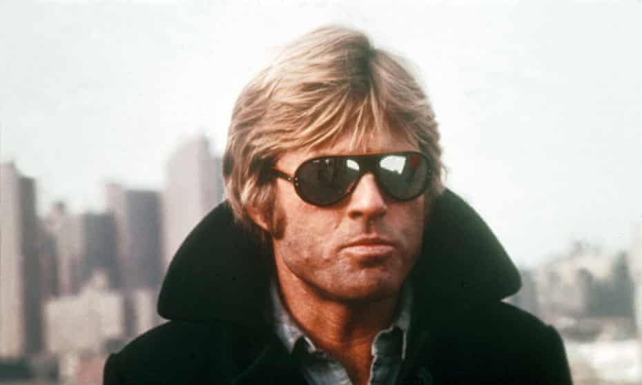 Redford in Three Days of the Condor (1975).