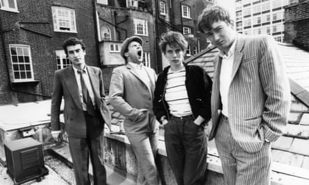 Gang of Four in 1980