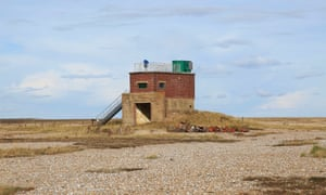 A former military building in Orford Ness, Suffolk.