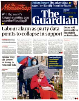 Guardian front page, Wednesday 5 May 2021