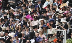 A packed crowd on day five of Royal Ascot.