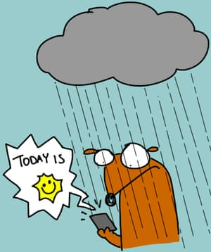 App cartoons rain