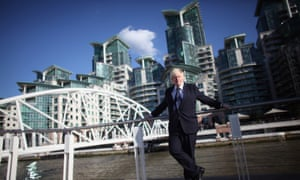 Boris Johnson and high-rise luxury developments by the Thames