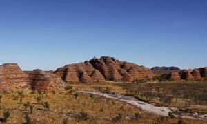 View of the Bungle Bungles, located in the heritage listed Purnululu National Park