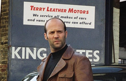 Looking great in 1970s kit ... Statham in The Bank Job. Photograph: Allstar/Lionsgate