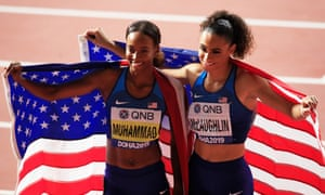 Sydney McLaughlin and Dalilah Muhammad