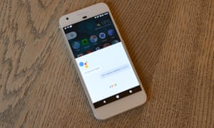 The Google Assistant app: 'If anything, it's too eager to please'.