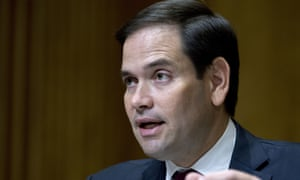 Marco Rubio endorsed Trump despite the two sparring bitterly in the Republican presidential primary.
