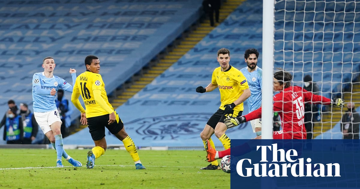 Phil Foden saves Manchester City with late winner against Borussia Dortmund