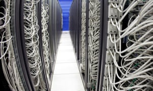 A server farm at CERN. This is what the hosts' 'brains' would probably look like if we tried to build them now. (AP Photo/KEYSTONE/Martial Trezzini)