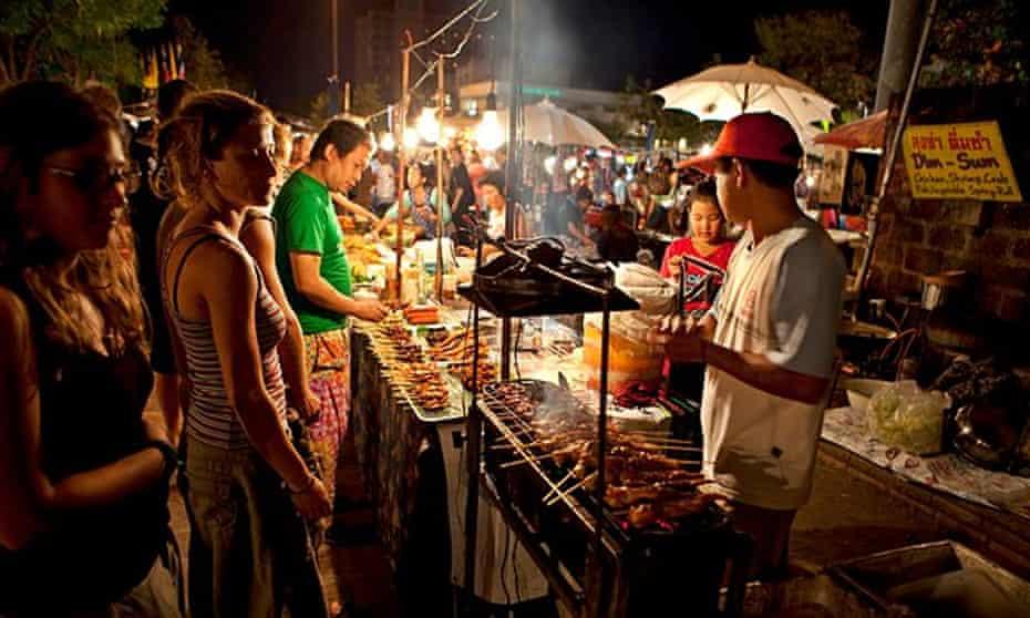 Night food market, Chiang Mai