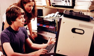 Matthew Broderick and Ally Sheedy in War Games.
