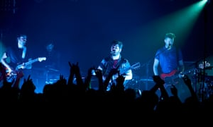 Foals performing at Gorilla on Whitworth Street in Manchester on the opening night of the band's 2019 tour.