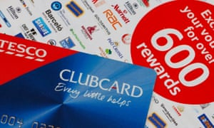 Tesco Clubcard and money-off vouchers