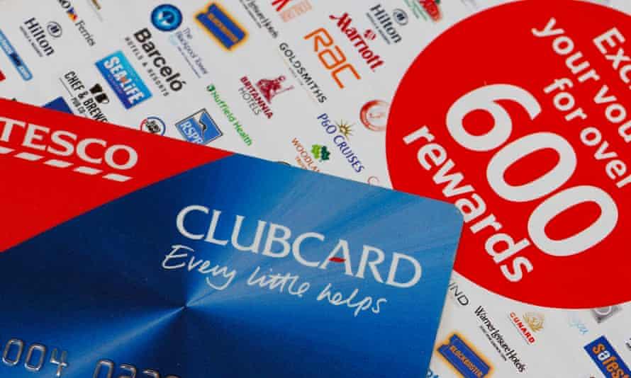 Tesco Clubcard and money-off vouchers