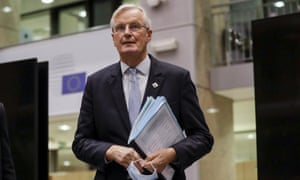 The EU's chief Brexit negotiator, Michel Barnier, wants to speed up the talks.