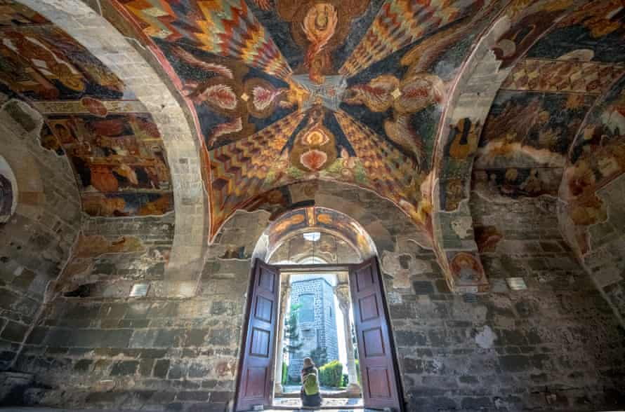 Interior Of Hagia Sophia, Trabzon, Turkey.