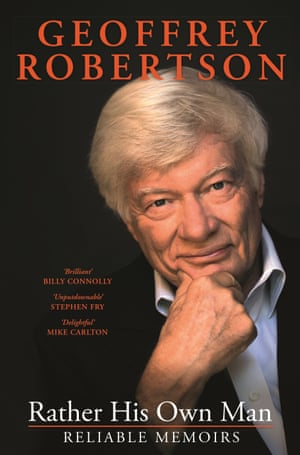 Rather His Own Man by Geoffrey Robertson - book cover