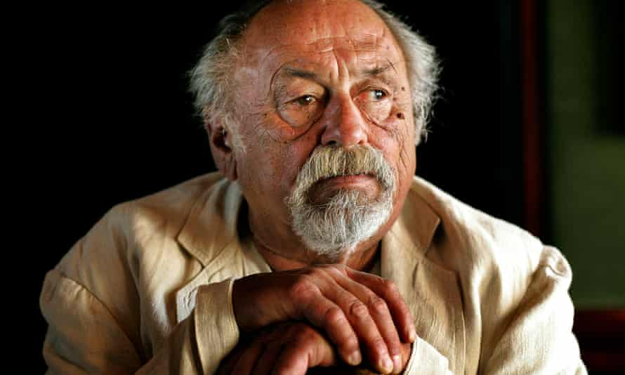 Jim Harrison in 2007. 'In a life properly lived you're a river. You touch things lightly or deeply, you move along because life itself moves and you can't stop it,' he said.
