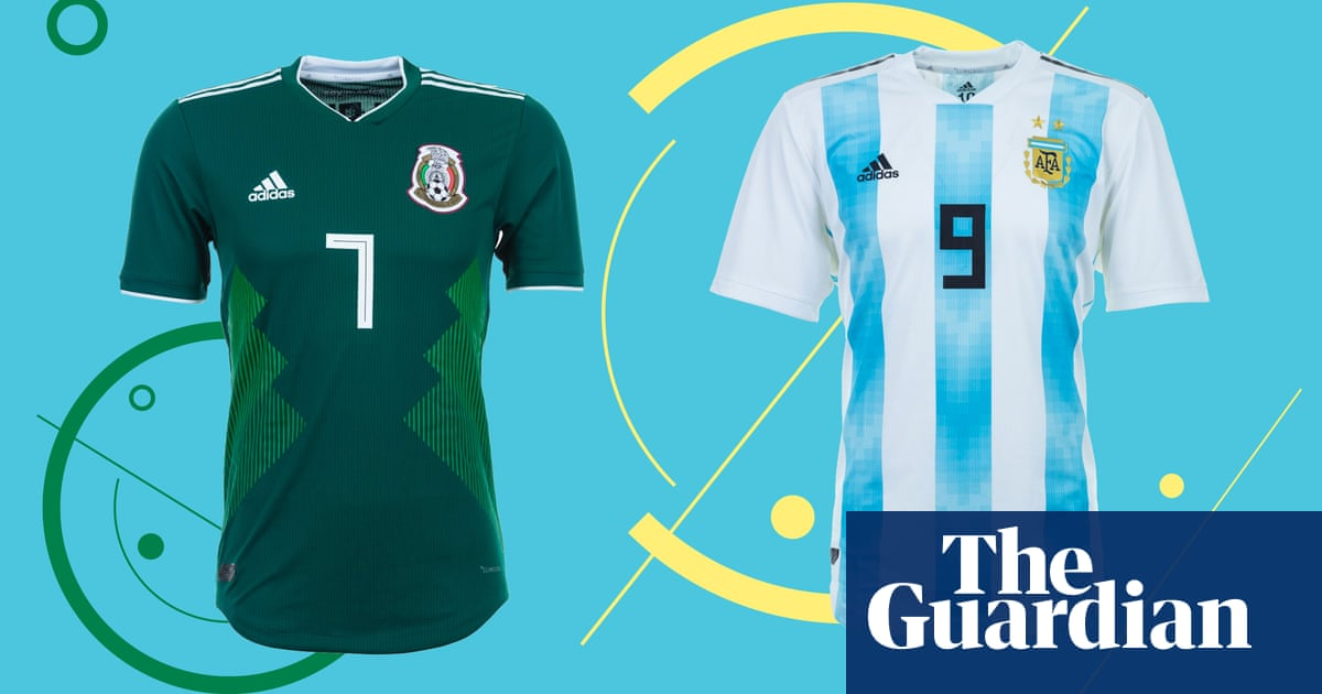 525ce3066 Fashion's first 11: which is the most stylish World Cup kit? | Fashion |  The Guardian