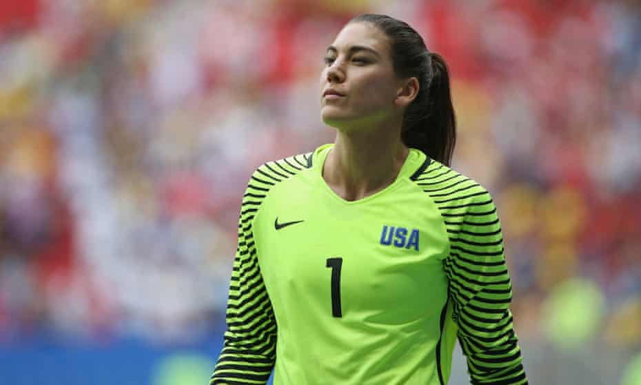 Hope Solo made more than 200 appearances for the US