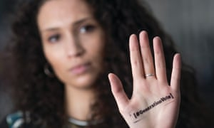 An NUS #GenerationVote poster with Malia Bouattia