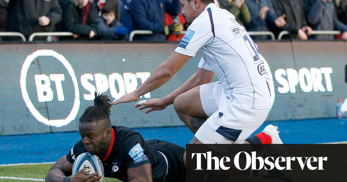 Saracens' win overshadowed by Michael Fatialofa's neck injury for Worcester