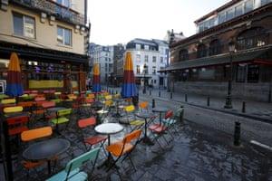 Empty cafes