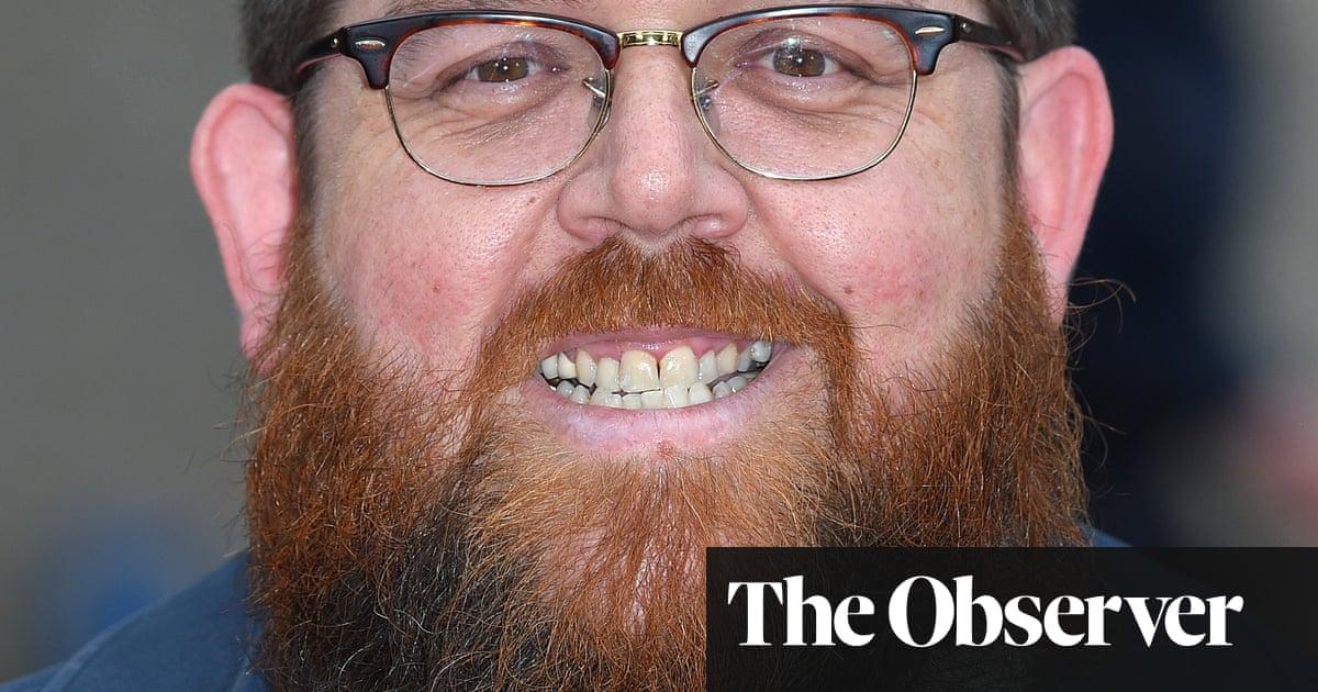 Sunday with Nick Frost: 'I go through a jar of Nescafé a week'