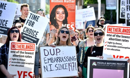 'This call for change is in tune with the majority of people of Northern Ireland – this is consistent across all ages ranges, genders and both Catholic and Protestant communities.'