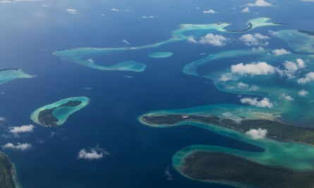 Bright spots were typically found in the Pacific Ocean in places such as the Solomon Islands, parts of Indonesia, Papua New Guinea, and the island republic of Kiribati.