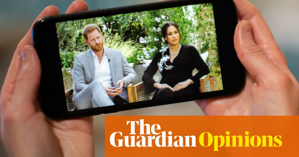 Thanks, Harry and Meghan, you've given us just what we want from the royal family