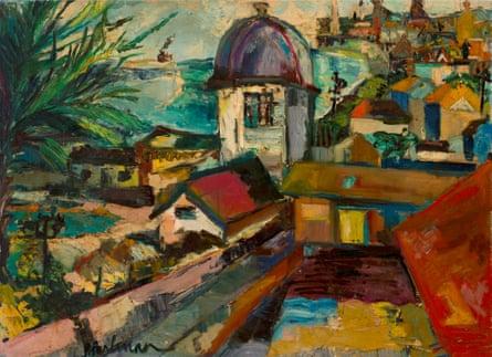 House of Simón Bolívar, Curaçao, 1941, by Suzanne Perlman