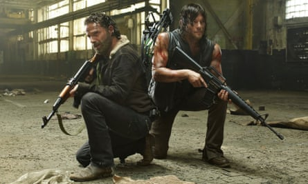 'I don't think I can do this at 90' … Andrew Lincoln as Rick Grimes and Norman Reedus as Daryl Dixon discuss their future