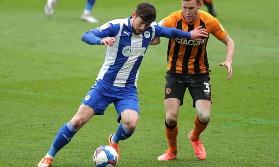 Callum Lang has experienced a dramatic series of highs and lows during his time at Wigan.